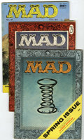 Magazines:Mad, Mad #28, 30, and 31 Group (EC, 1956-57).... (Total: 3 Comic Books)