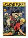Golden Age (1938-1955):Classics Illustrated, Classic Comics #29 The Prince and the Pauper - Original Edition (Gilberton, 1946) Condition: Apparent VG....