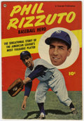 Golden Age (1938-1955):Non-Fiction, Phil Rizzuto Baseball Hero #nn (Fawcett, 1951) Condition: VG....