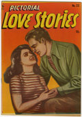 Golden Age (1938-1955):Romance, Pictorial Love Stories #22 (Charlton, 1949) Condition: VF+....