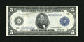Fr. 868 $5 1914 Federal Reserve Note Very Fine+