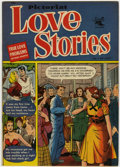 Golden Age (1938-1955):Romance, Pictorial Love Stories #1 (St. John, 1952) Condition: FN/VF....