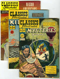 Silver Age (1956-1969):Classics Illustrated, Classics Illustrated Group (Gilberton) Condition: Average FN unlessotherwise stated.... (Total: 5 Comic Books)