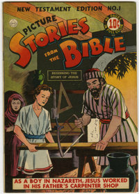 Picture Stories from the Bible New Testament #1 (DC, 1944) Condition: VF
