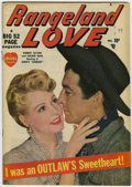 Golden Age (1938-1955):Romance, Rangeland Love #1 New Hampshire pedigree (Atlas, 1949) Condition:FN/VF....