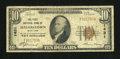 National Bank Notes:Maryland, Hagerstown, MD - $10 1929 Ty. 1 The First NB Ch. # 1431. ...