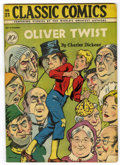 Golden Age (1938-1955):Classics Illustrated, Classic Comics #23 Oliver Twist - Original Edition (Gilberton, 1945) Condition: VG+....