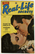 Golden Age (1938-1955):Romance, Real Life Secrets #1 Mile High pedigree (Ace, 1949) Condition: VF-....