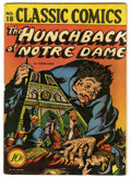 Golden Age (1938-1955):Classics Illustrated, Classic Comics #18 The Hunchback of Notre Dame - Original Edition(Gilberton, 1944) Condition: Apparent GD+....
