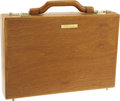 Movie/TV Memorabilia:Costumes, Buddy Ebsen's Wooden Briefcase from John Crean. This handsome wooden briefcase was given as a gift to Ebsen from his friend,... (Total: 1 Item)