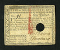 Colonial Notes:Massachusetts, Massachusetts May 5, 1780 $1 Extremely Fine, HOC....
