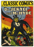Golden Age (1938-1955):Classics Illustrated, Classic Comics #13 Dr. Jekyll and Mr. Hyde - Original Edition(Gilberton, 1943) Condition: VG+....