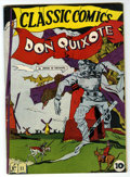 Golden Age (1938-1955):Classics Illustrated, Classic Comics #11 Don Quixote - Original Edition (Gilberton, 1943)Condition: FN+....