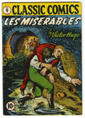 Golden Age (1938-1955):Classics Illustrated, Classic Comics #9 Les Miserables - Original Edition (Gilberton,1943) Condition: VG/FN....