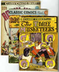 Golden Age (1938-1955):Classics Illustrated, Classic Comics #1, 5, and 7 Group (Gilberton) Condition: AverageVF-.... (Total: 3 Comic Books)