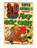 Golden Age (1938-1955):Funny Animal, Super Animals Presents Pidgy and the Magic Glasses #1 (StarPublications, 1953) Condition: GD/VG....
