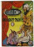Golden Age (1938-1955):Classics Illustrated, Classic Comics #8 Arabian Nights - Original Edition (Gilberton, 1943) Condition: VG/FN....