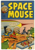 Golden Age (1938-1955):Funny Animal, Space Mouse #1 (Avon, 1953) Condition: FN/VF....