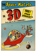 Golden Age (1938-1955):Funny Animal, Space Kat-ets in 3-D #1 (Power Publishing Co., 1953) Condition:VG/FN....
