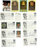 Autographs:Others, Vintage Baseball Stars Signatures Lot of 15. A total of 15signatures comes to us here from some of the game's most-celebra...