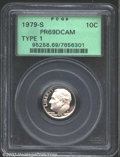 Proof Roosevelt Dimes: , 1979-S 10C Type One PR 69 Deep Cameo PCGS. ...