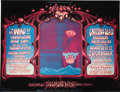 Music Memorabilia:Posters, The Who/Grateful Dead/Creedence Clearwater Revival Fillmore WestConcert Poster BG-133 (Bill Graham, 1968). Artist Rick Grif...(Total: 1 Item)
