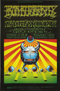 Music Memorabilia:Posters, Iron Butterfly Fillmore West Concert Poster BG-141 (Bill Graham,1968). This is the companion poster to BG-140, featuring a ...(Total: 1 Item)