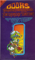 """Music Memorabilia:Posters, The Doors """"Pay Attention"""" Denver Concert Poster FD-D18 (Family Dog,1967). Also known as """"The Space Man,"""" this wonderful Ric... (Total:1 Item)"""