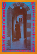 "Music Memorabilia:Posters, The Doors Matrix Concert Poster Second Printing (Neon Rose, 1967).This is the ""orange border"" second printing of the class... (Total:1 Item)"