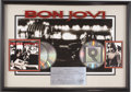 Music Memorabilia:Awards, Bon Jovi Cross Road RIAA CD Award. Presented to DJ ChrisTaylor as a thank you for helping to promote the band's... (Total:1 Item)