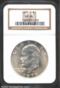 """Eisenhower Dollars: , 1971-S $1 Silver MS66 NGC. The latest Coin World """"Trends"""" ..."""