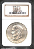 "Eisenhower Dollars: , 1973-S $1 Silver MS66 NGC. The latest Coin World ""Trends"" ..."