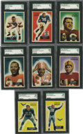 Football Collectibles:Uniforms, 1955 Bowman Football Complete Set (160) . This set was Bowman's last before it was purchased by Topps in early 1956. Key roo...