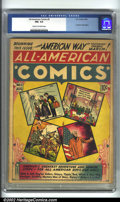 Golden Age (1938-1955):Miscellaneous, All-American Comics #5 (DC, 1939). CGC FN+ 6.5 Cream to off-white pages. American Way begins. What a scarce book! Overstreet...