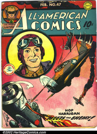 All-American Comics #47 (DC, 1943). This is a solid GD+ with nice pages