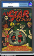 Golden Age (1938-1955):Superhero, All-Star Comics #8 (DC, 1942). CGC VG- 3.5 Cream pages. Origin and first appearance of Wonder Woman. Moldoff, Burnley and Ba...
