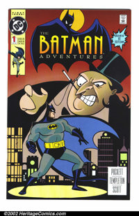 Batman Adventures Lot (DC, 1992). Large lot of books from the various BATMAN THE ANIMATED SERIES-related books. Includes...