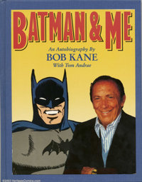 Batman and Me by Bob Kane Ltd. Slipcased Hardback with Original Joker Sketch #87 of 500 (Eclipse Books, 1989). Beautiful...