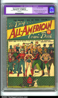 Golden Age (1938-1955):Superhero, Big All-American Comic Book #1 (DC, 1944). CGC Apparent VF- 7.5 Off-white pages. Slight amateur restoration includes: modera...