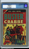 Golden Age (1938-1955):Science Fiction, Buster Crabbe #4 Bethlehem pedigree (Lev Gleason, 1954). CGC NM 9.4Off-white pages. Slight tanning interior front and back ...