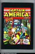 Golden Age (1938-1955):Superhero, Captain America The Classic Years (Marvel). Beautiful 2-volume hardback/slipcased reprints of the first ten issues of Capt...