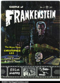 Silver Age (1956-1969):Horror, Castle of Frankenstein #2 (Gothic Castle Printing, 1962). Condition: VG+. ...