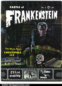 Castle of Frankenstein #2 (Gothic Castle Printing, 1962). Condition: VG+