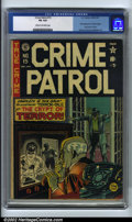Golden Age (1938-1955):Crime, Crime Patrol #15 (EC, 1950). CGC VG 4.0 Cream to off-white pages. First appearance of Crypt Keeper and Crypt of Terror. John...