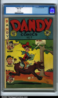 Golden Age (1938-1955):Funny Animal, Dandy Comics #7 (EC, 1948). CGC FN+ 6.5 Off-white pages. Overstreet2001 FN 6.0 value = $56. Overstreet 2002 FN 6.0 value = ...