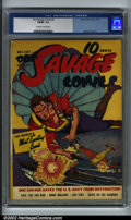 Golden Age (1938-1955):Superhero, Doc Savage Comics #4 (Street & Smith, 1941). CGC FN/VF 7.0 Off-white to white pages. George Tuska art. Overstreet 2001 FN 6....