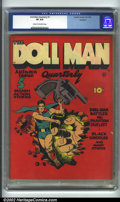 Golden Age (1938-1955):Superhero, Doll Man Quarterly #1 (Quality, 1941). CGC VF 8.0 Cream to off-white pages. Overstreet 2001 FN 6.0 value = $915; NM 9.4 valu...