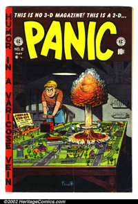 EC Comics Group Lot (EC, 1950s). This lot consists of two EC comics. They are as follows: Panic #2 VG+ and MD #3 VG-