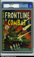 Golden Age (1938-1955):War, Frontline Combat #2 Gaines File pedigree 3/9 (EC, 1951). CGC NM/MT 9.8 Off-white pages. Davis, Wood and Kurtzman art. Overst...