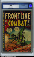 Golden Age (1938-1955):War, Frontline Combat #3 Gaines File pedigree 3/9 (EC, 1951). CGC NM+ 9.6 Off-white to white pages. Davis, Kurtzman and Wood art....